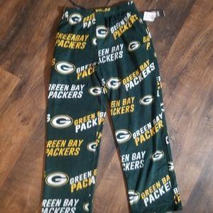 NFL Green Bay Packers fleece pajama bottoms